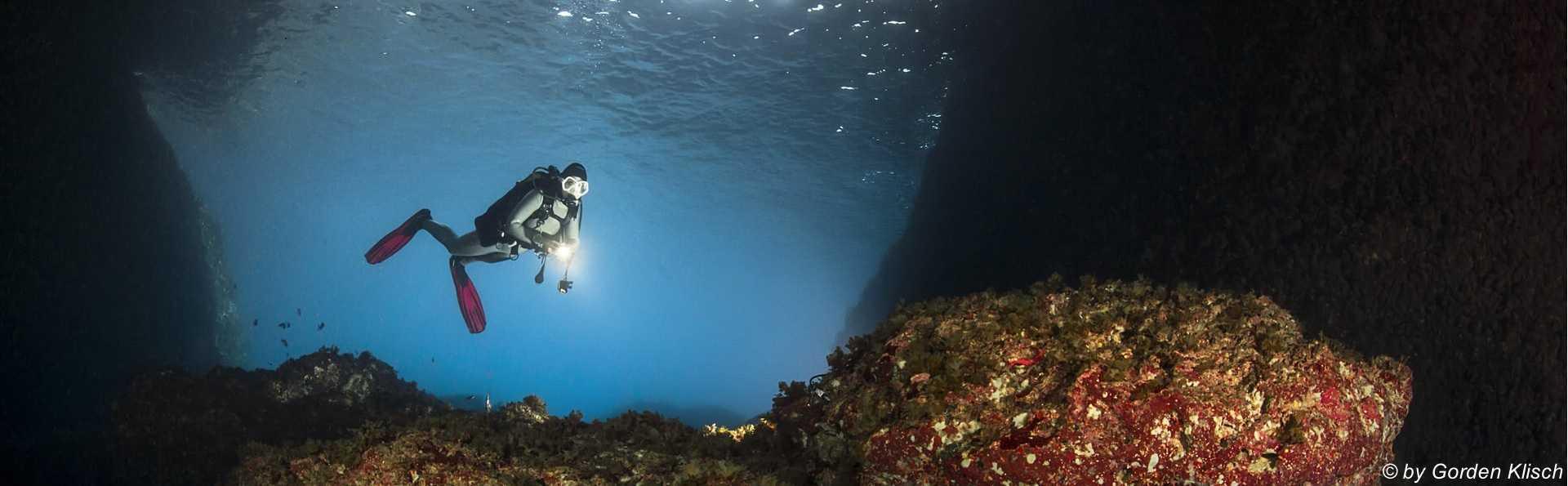 Cave St. Maria Gorden Klisch Dive Vision Malta