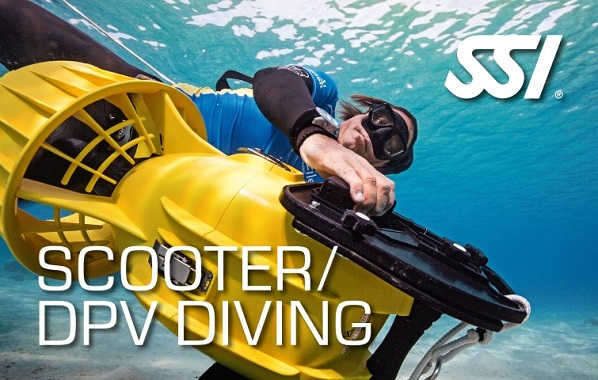 SSI Scooter DPV Diving